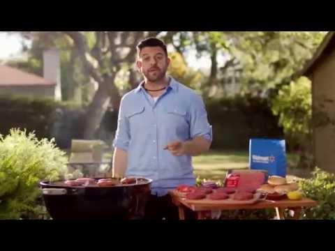 TV Spot - Walmart - Tips for Burger Bliss - Feat Adam Richman - Save Money Live Better