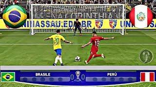Brasile 🆅🆂 Perù • Final Copa América (Calci di Rigore) • PES 2019 Patch [Giù]