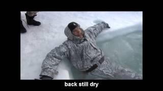 Test of Russian winter equipment in Arctic waters