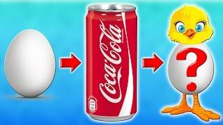 ЯЙЦО пролежало в Кока Коле 2 ГОДА! Что с ним стало???