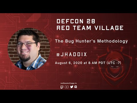 The Bug Hunter's Methodology Jason Haddix @jhaddix
