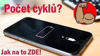 ✅ Jak zjistit počet cyklů baterie v iPhonu?