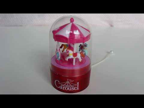 Musical Carousel Toy with Horses
