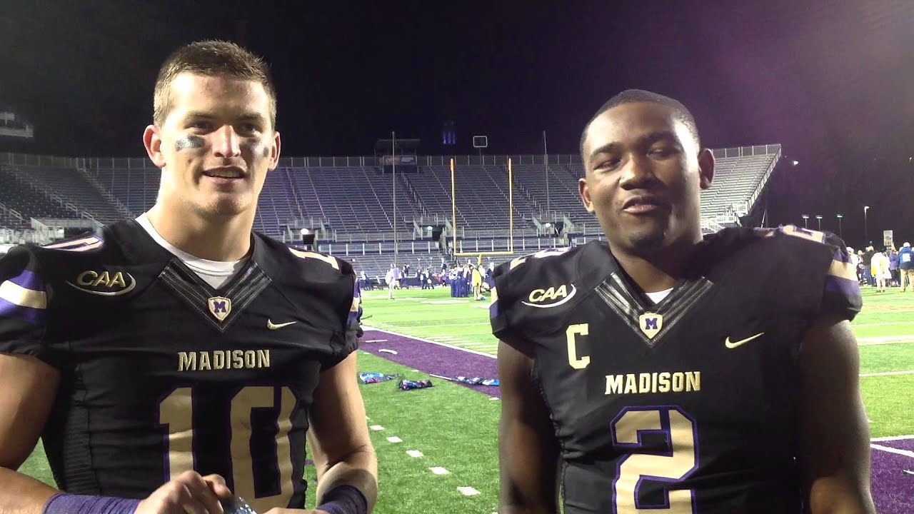 842749d62 2014 JMU Football - Daniel Brown and Vad Lee Thank You - YouTube