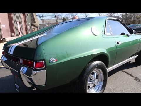 ~SOLD~1969 AMC AMX For Sale~Original 390~4 Speed~Navigation~Custom Stereo~MINT!!