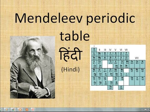 Mendeleev periodic table in hindi most popular videos urtaz Image collections