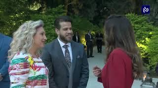 جلالة الملكة رانيا العبدالله تقيم مأدبة إفطار لفعاليات شبابية (27-5-2019)