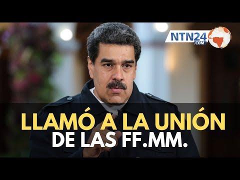 Venezuela: Maduro pidió unidad a las Fuerzas Militares de Venezuela en el fuerte Tiuna