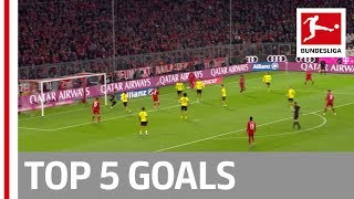Lewandowski, Bellarabi, Hennings & More - Top 5 Goals on Matchday 11
