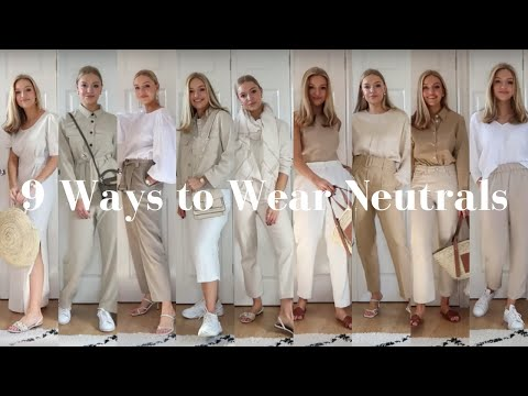 STYLING NEUTRALS FOR SUMMER | LYDIA TOMLINSON - YouTube