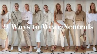 STYLING NEUTRALS FOR SUMMER | LYDIA TOMLINSON