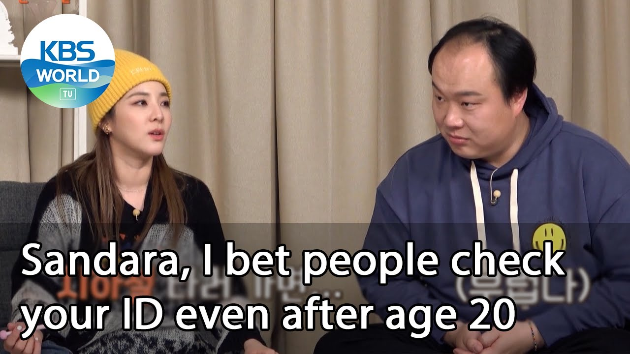 Download Sandara, I bet people check your ID even after age 20 (Problem Child in House) | KBS WORLD TV 210115