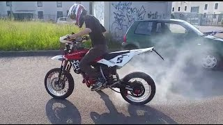 husqvarna 125 sound check fail