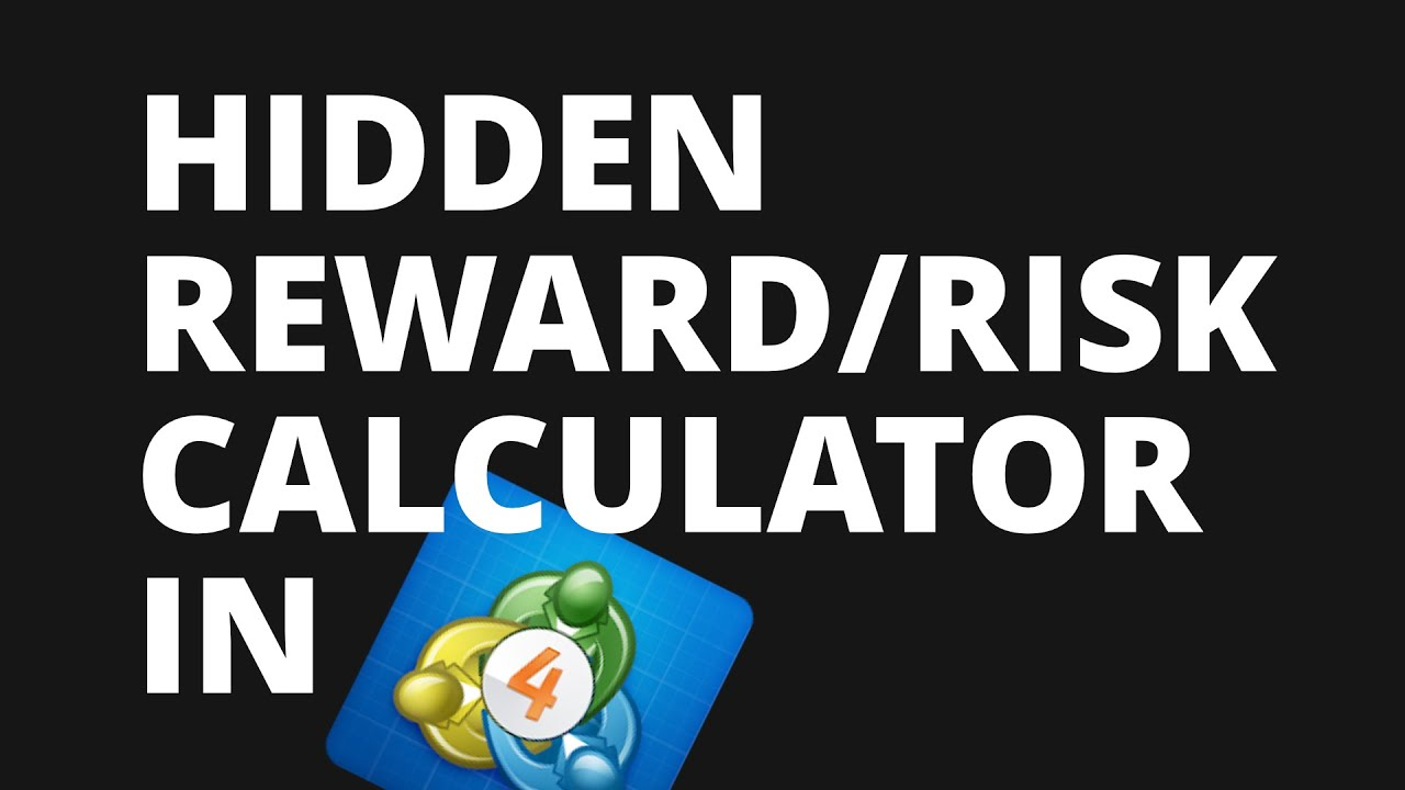 Risk reward ratio forex calculator