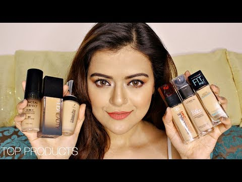 Best foundation for dry and dark skin in india