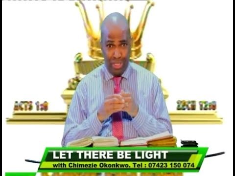 Chimezie Okonkwo (TOPIC: SHOW YOURSELF) on LET THERE BE LIGHT (16) on 08 Apr 2017.