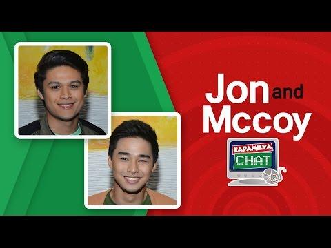 Kapamilya Chat with Hashtags Jon Lucas and Mccoy De Leon