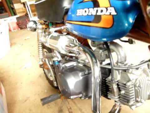 Honda Z50 Monkey 1973 Lifan 140 CC engine