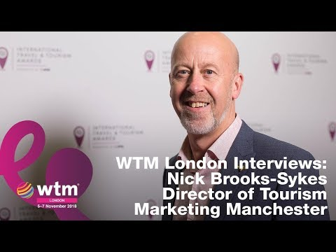 Nick Brooks-Sykes, Director of Tourism, Marketing Manchester
