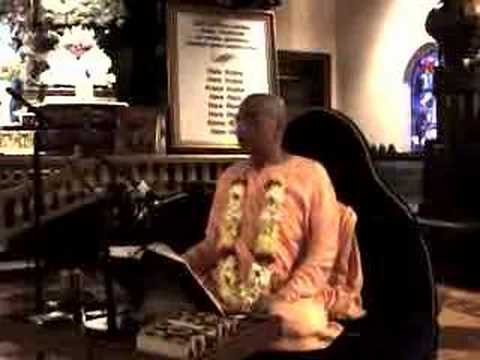 Bhakti Charu Swami Lecture SB 7.3.22