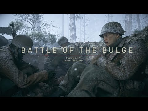 Call Of Duty WWII  Battle Of The Buldge