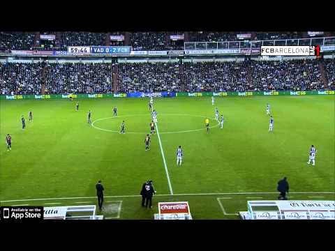 Real Valladolid 1-3 FC Barcelona - HIGHLIGHTS - LIGA BBVA: MATCH DAY 17