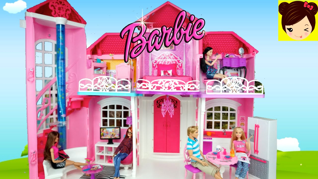 decorando la casa de muecas barbie malibu juguetes de barbie con titi youtube