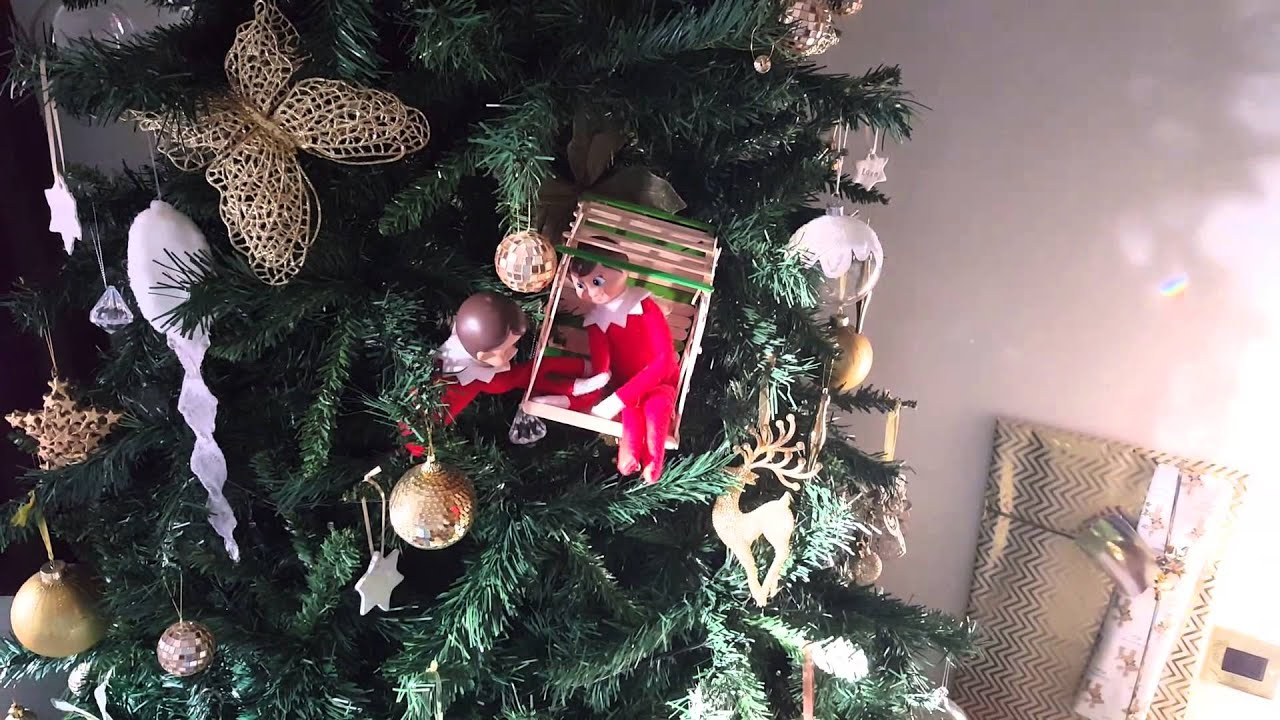 Elf On The Shelf Tree House Youtube