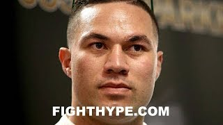 "JOSEPH PARKER DISMISSES JOSHUA VS. WILDER TALK; MOTIVATED TO DERAIL PLANS: ""WE'RE IN THE WAY"""