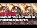 MONSTER HUNTER WORLD - HOW TO GET THE GALA SUIT ARMOR SET PLUS BREAKDOWN AND REVIEW!!