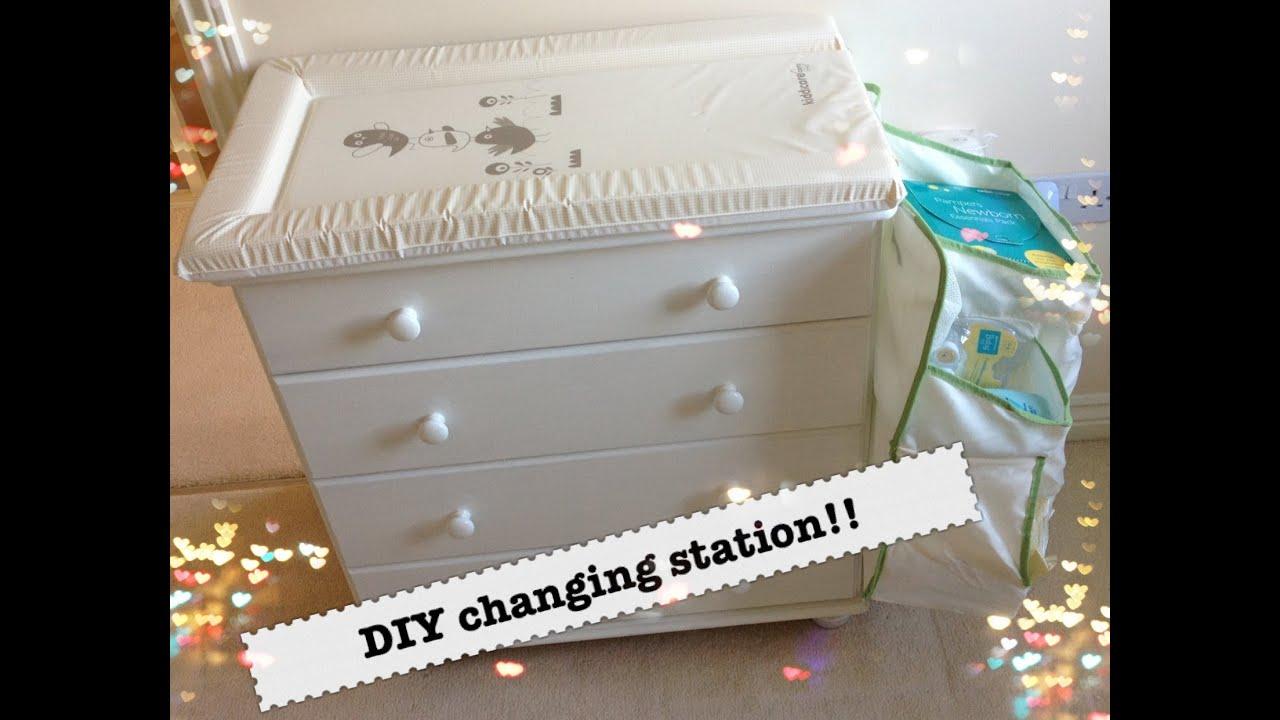 Sneak Peek At The Nursery U0026 DIY Changing Table!   YouTube