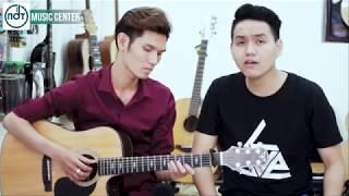 Yêu từ phía xa guitar Cover - Abee & Tiến Tom