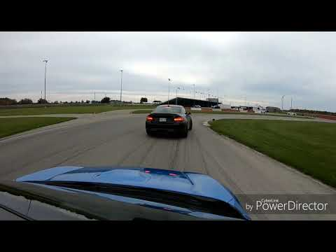 Fun lapping in cayuga. Civic type R vs BMW M2