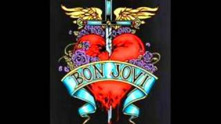 Bon Jovi - U give love a bad name (lyrics)