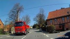 D: Gemeinde Niederdorf. Erzgebirgskreis. Ortsdurchfahrt. April 2019