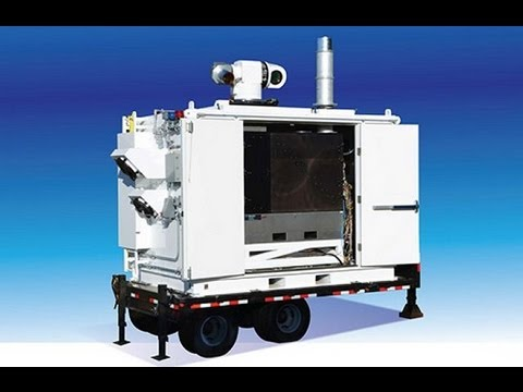 2012 ADAM Area Defense Anti munitions ground base laser system demonsration against UAV