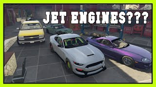 Day 15 - Trolling cops with Jet engine cars  |  RedlineRP  |  GTA5 Roleplay