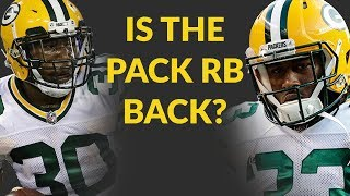 Aaron Jones's Return From Suspension Brings A Possible Fantasy Football Star Into A Great Situation,