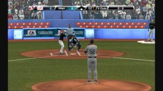 HD3850 Gameplays - Major League Baseball 2K9
