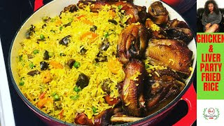 HOW TO COOK THE BEST NIGERIAN PARTY FRIED RICE STEP BY STEP|PARTY FRIED RICE RECIPE