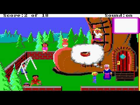 Mixed Up Mother Goose (1987) (Sierra On-Line, Inc ) Part 1/3