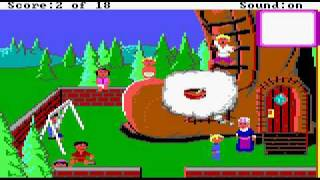 Mixed Up Mother Goose (1987) (Sierra On-Line, Inc.) Part 1/3
