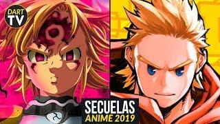 Animes que CONTINUAN en 2019  NUEVAS TEMPORADAS Anime 2019  Secuelas Anime 2019
