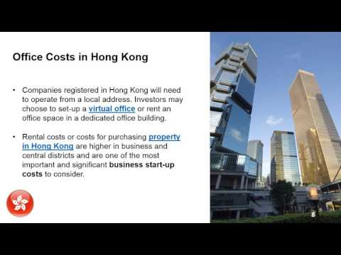 Business Start-Up Costs in Hong Kong