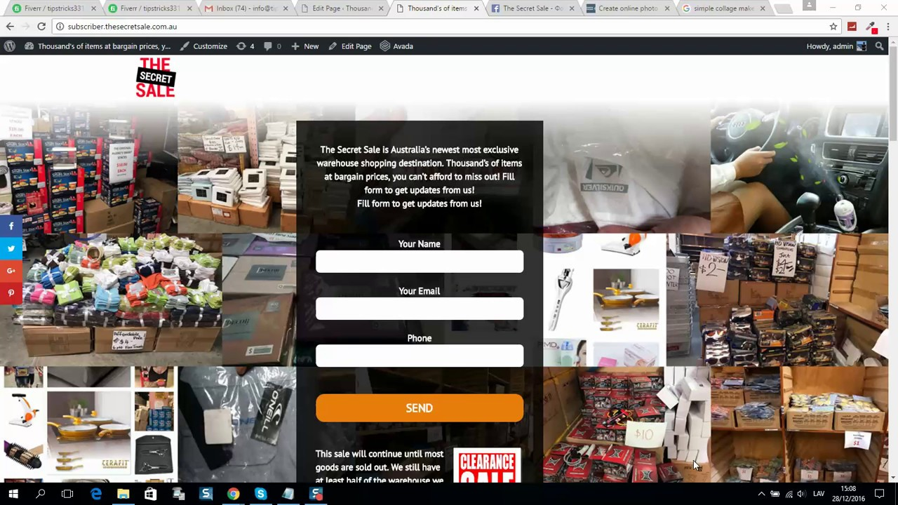 simple collage maker online free or how to create collage online - YouTube