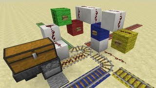 The Quadstation -- Minecraft Minecart Tutorial
