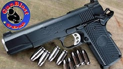 Shooting the Nighthawk Custom Falcon 45 ACP Semi-Automatic Pistol - Gunblast.com