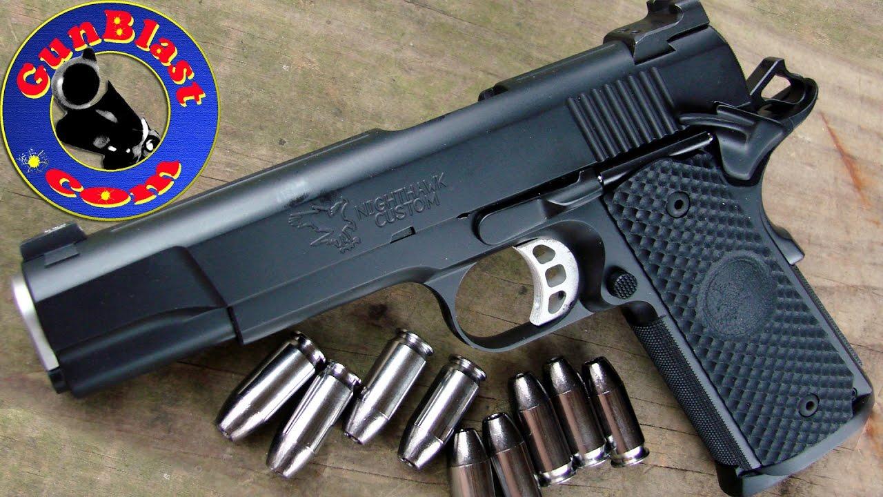 Shooting the Nighthawk Custom Falcon 45 ACP Semi-Automatic Pistol -  Gunblast com
