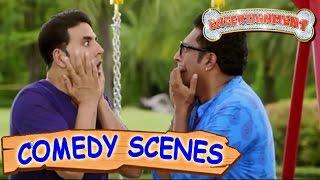 Akshay Kumar Fooling Prakash Raj & Sonu Sood- Comedy Scenes | Entertainment | Hindi Film