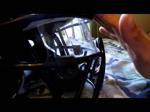 DNA Facemask on a Xenith Football Helmet